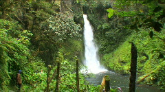Ambua waterfalls Stock Footage