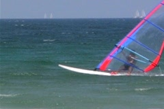 Windsurfer - NTSC Stock Footage