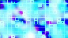 Scrolling shapes in cloud loop Stock Footage