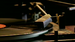 Stock Video Footage of Record Player