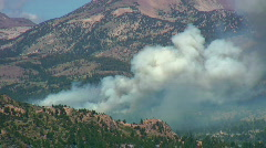 Stock Video Footage of California wildfire
