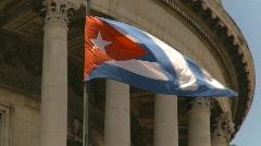 Havana, Cuba, El Capitolio, #23 Stock Footage