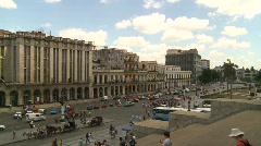 Havana, Cuba. Traffic and city view, #17 Stock Footage