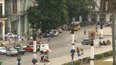 Havana, Cuba. Traffic, #8 Stock Footage