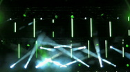 Concert Light-show 11 Stock Footage