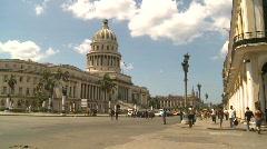 Havana, Cuba, El Capitolio, #2 Stock Footage