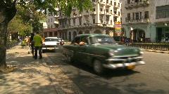 Havana, Cuba. Traffic, #15 Stock Footage