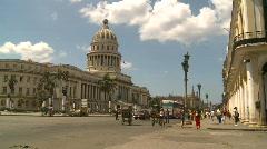 Havana, Cuba, El Capitolio, #1 Stock Footage