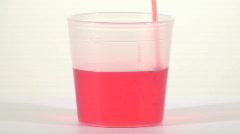 Liquid medicine pour - HD  Stock Footage