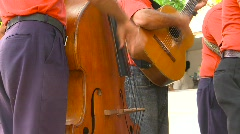 Cuban band, music Stock Footage