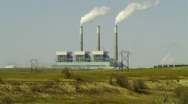 Db coal power plant Stock Footage