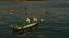 Havana, fishing skiff, #1 Stock Footage