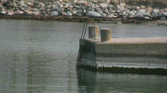 Small harbor Stock Footage