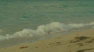Cuba, beach sunset slo-mo Stock Footage