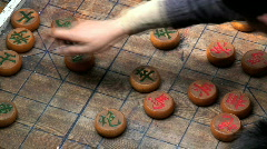Chinese checkers - stock footage