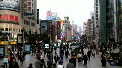 Varattu kaupunki Kiinassa Arkistovideo