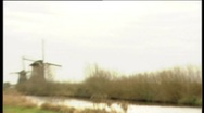 42 Kinderdijk windmills Stock Footage