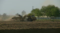 Earth mover at work Stock Footage