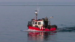 Lobster Boat - stock footage