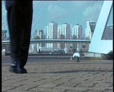 62 Rotterdam walking Stock Footage