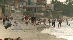 beach, tropics - stock footage