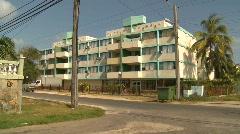 Cuba, ugly Soviet era apartment, #1 Stock Footage