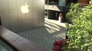 Apple store in Beijing Stock Footage