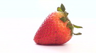 Stock Video Footage of Slow motion chocolate strawberry pour - HD