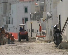 Construction in Italy Stock Footage