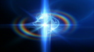 Active space energy quasar Stock Footage