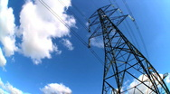 Stock Video Footage of Time-lapse Electricity and energy