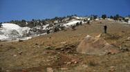 Mountain pan Stock Footage