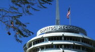 Stock Video Footage of Hollywood Capitol Records Rooftop