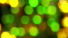 Vibrant Lights at a Carnival Stock Footage