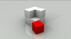 CubesAnim1 Stock Footage