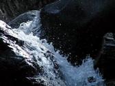 Waterfall B 04 Loop 210fps Slow Motion Stock Footage