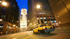 Pan Left CBOT Stock Footage