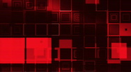 Stock Video Footage of Red Squared