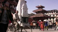 Stock Video Footage of durbar sq kathmandu H264 Widescreen 1280x720
