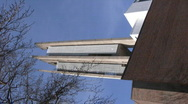 Cross church in Lahti, Finland, vertical composition 2 Stock Footage