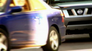 Traffic in an Urban City Stock Footage