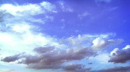 Beautiful Clouds in the Sky Stock Footage