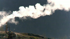 Air pollution Stock Footage