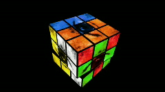 Eye Cube Puzzle Part 2 Stock Footage