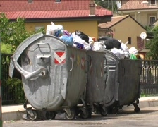 Italian waste Stock Footage