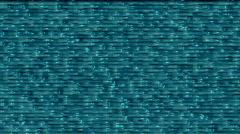 Aqua liquid plastic background bg1036 Stock Footage