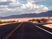 Stock Video Footage of Desert Road FAST - 720x480 NTSC