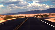 Stock Video Footage of Desert Road FAST - 1920x1080 HD