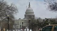 Washington DC Capital Building HD Zoom Stock Footage