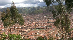 Cuzco peru view Stock Footage